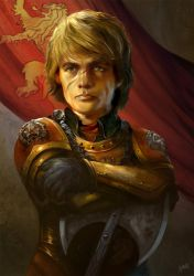 Tyrion Lannister by flaviobolla
