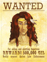 WANTED: Cahyan Sunteki by Snowy-Dragoness