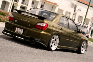 Cool Subaru Impreza by degraafm