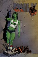 She Hulk 2017 Web by akmeto