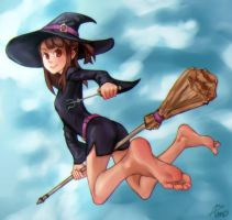 Little Witch Academia-Atsuko by Asmo-dA