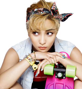Luna f(x) Cosmopolitan Photoshoot Render by xCherry0nTop