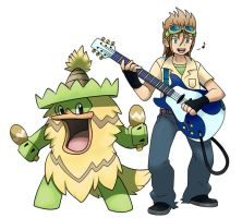 Collab: Demyx and Ludicolo