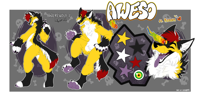 Aweso Official ref by SnowyCakes