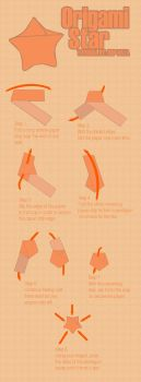 how to make a paper star by isip-bata