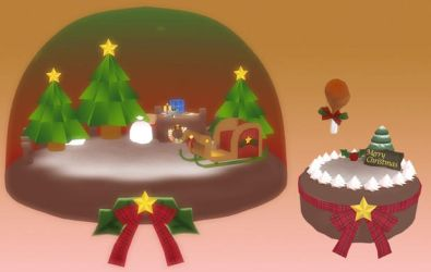 .::. MMD: DL TAIMUU.::. Christmas Cake Stage by Ame-Yumi
