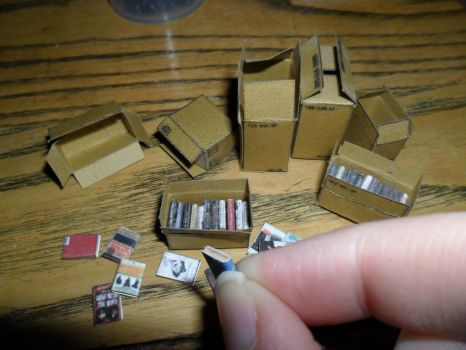 Packing Miniatures is such a tedious job by kayanah