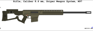 Colt M97 Sniper rifle by DaltTT