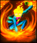 Underswap Grillby w/Speed Paint by Meow101XD