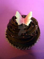 Chocolate Butterfly Cakes by BilliePop