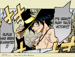 Gray WINS!! coloring, FT chapter 306 by AnnaHiwatari