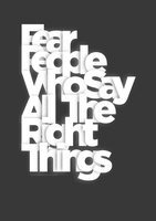 All The Right Things by WRDBNR