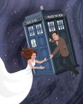 Tardis Commission by hexacosm