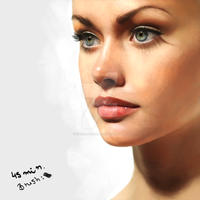 Speed Painting by marinamaral