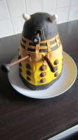 Dalek Cake by BevisMusson
