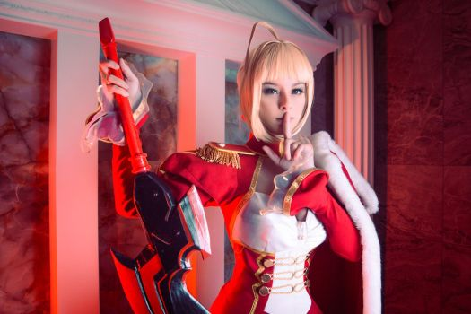 Fate/Extra - Saber Nero by Disharmonica