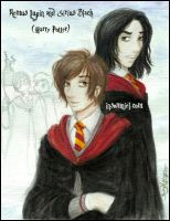 Remus and Sirius by insomniel