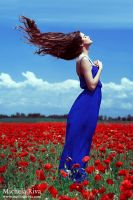 Into the Wild Red 12 by Michela-Riva