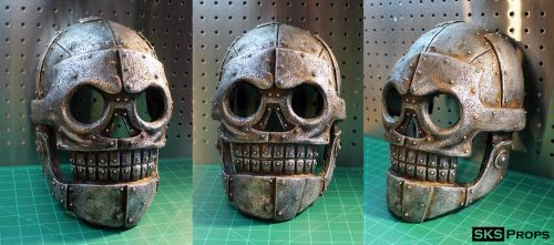 Skeletron Mask from Turbo Kid SKS Props by SKSProps