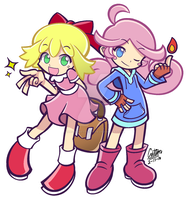 .:What if: Puyo Puyo Quest x Mother 2+3 Cosplay:. by CaitlinTheStarGirl