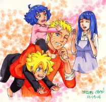 Next Generation Families Bonding-Uzumaki by midorichan12