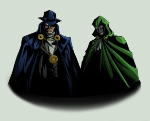 Stranger and Spectre by TimelessUnknown