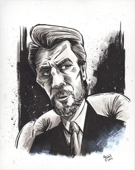Hans Gruber from Die Hard by AtlantaJones