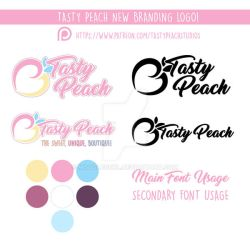 Tasty Peach New Logo and Branding by MoogleGurl
