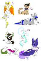 Name you price adopts OPEN! [1 LEFT] by onelittlefurrycat
