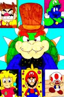 Bowser Wonka and the mushroom factory by Iwatchcartoons715