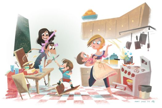 Mama's Kitchen by AnthonyHolden