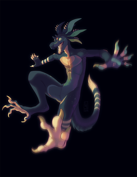 fullbody flat for Lordmarlon by LiLaiRa