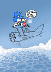 Sonic Comic sketches 1 (2017) by MarkMooreDraw