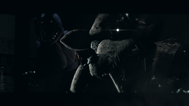 SFM FNAF POSTER| Ready to Pounce by CoolioArt