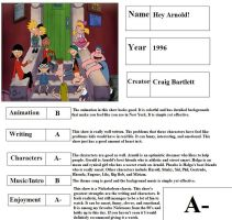Hey Arnold! Report Card by mlp-vs-capcom