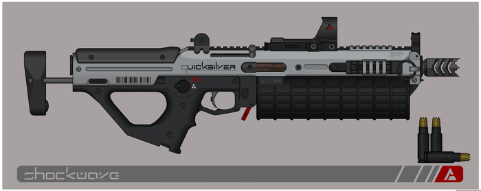 Quicksilver Industries: 'Taurus' SMG by Shockwave9001