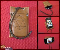 The Philosopher's Phone Case by RawringCrafts