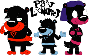PB and J Loonatics by JustinandDennis
