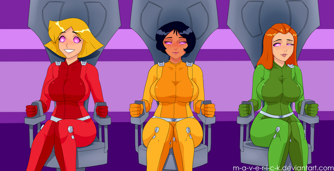 Totally Spies Hypno Gas -VARIANT- by M-a-v-e-r-i-c-k