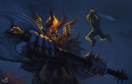 War of the gods by Majoh