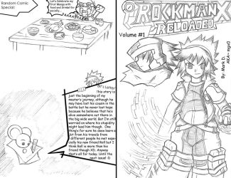 Rockman X Reloaded Manga Cover by Mgx0