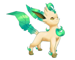 Shiny Leafeon by Alexxxa4
