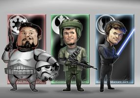 Star Wars The Slavov brothers by G-manbg