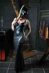 Murray and Vern Latex Dress by LatexModel