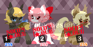 Pony Design_6--Sold out-- by abc002310