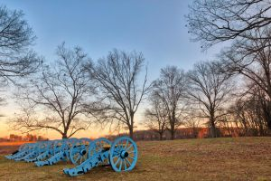 Valley Forge Cannon Twilight by somadjinn