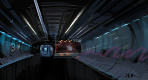 Daily Practice - Feb 4th:  Underground rail by cairn4