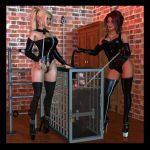 Heather and Erika - Pet Training by 007Fanatic