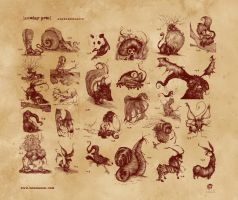 alphabeasts by BenBASSO