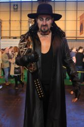 Undertaker WWE Champion by SeanMaguire1991